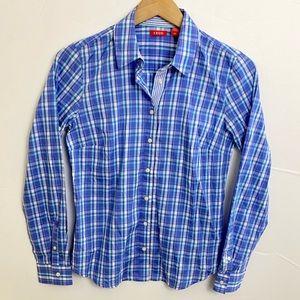 Odom Blue Long Sleeve Shirt